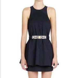 Sass & Bide French navy layered swing dress